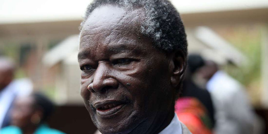 Former Minister Nicholas Biwott when he had gone to console the Family of the late William Ole Ntimama in Nairobi on September 6, 2016. FILE PHOTO   EVANS HABIL   NMG