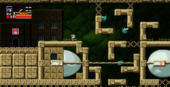 Image result for cave story switch screenshot