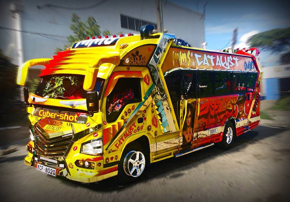 Cost against the ROI of owning a 33 seater minibus (Matatu